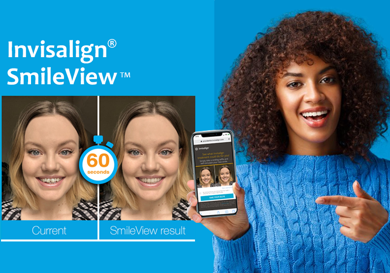 Take a Smiling Selfie and See Your New Look with Straight Teeth